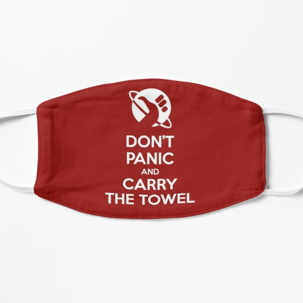 DON'T PANIC and carry the Towel Mask