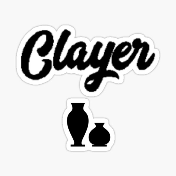Clayer, Pottery lover Sticker