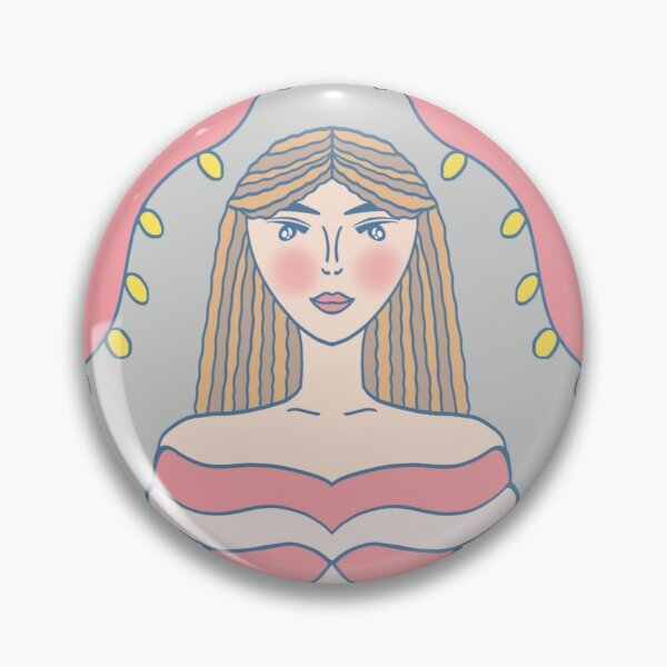 Lady Of The Hour Pin