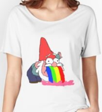 Gnome puking happiness - Gravity Falls Women's Relaxed Fit T-Shirt