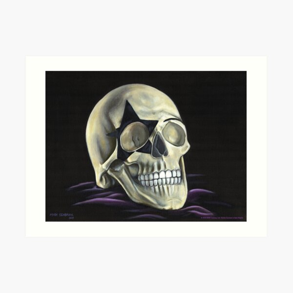KISS Skull: The Starchild Art Print