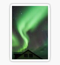 Aurora Borealis, Hofn, Iceland Sticker