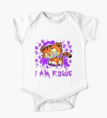 RogueTiger.com - Smirk Purple (light) Kids Clothes