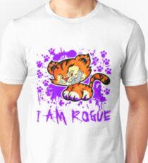 RogueTiger.com - Smirk Purple (light) T-Shirt