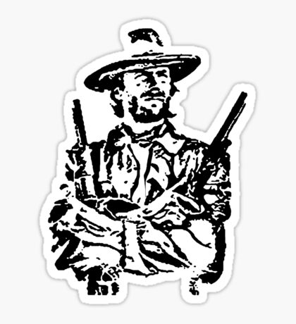 outlaw josie wales t-shirt Sticker