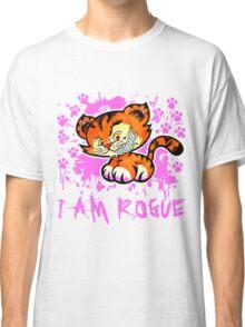 RogueTiger.com - Smirk Pink (light) Classic T-Shirt