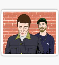 Sleaford Mods Chubbed Up Sticker