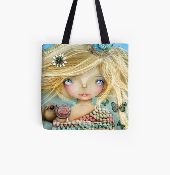 Nature Girl All Over Print Tote Bag