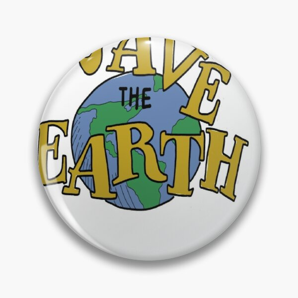 save the earth Pin