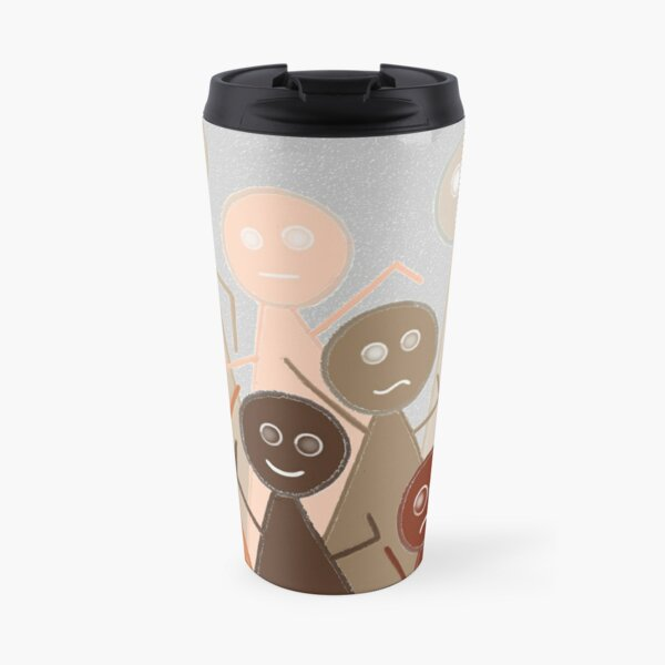 Different Person Different Perception Travel Mug
