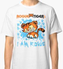 RogueTiger.com - Smirk Logo Light Blue (light) Classic T-Shirt