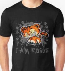 RogueTiger.com - Smirk Gray (dark) T-Shirt