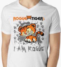RogueTiger.com - Smirk Logo Gray (light) T-Shirt