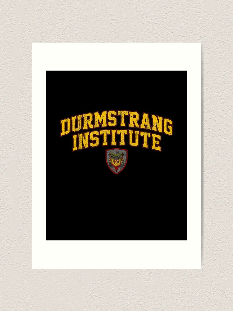 Durmstrang Institute Art Print By Huckblade Redbubble When we first hear of it, it is run by headmaster professor karkaroff. redbubble