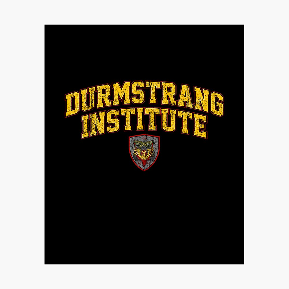Durmstrang Institute Poster By Huckblade Redbubble Durmstrang once had the darkest reputation of all eleven wizarding schools, though this was never entirely merited. durmstrang institute poster by huckblade redbubble
