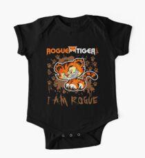 RogueTiger.com - Smirk Logo Brown (dark) Kids Clothes