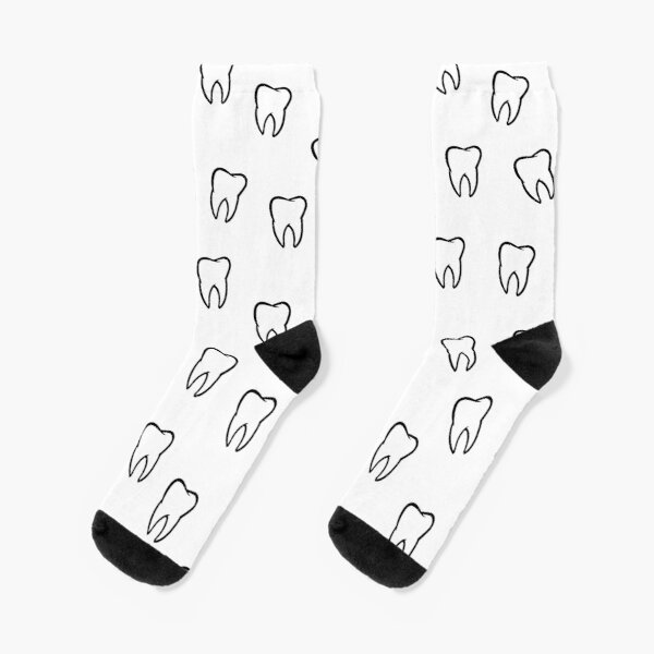 Zahn, Zähne, Zahnarzt, Zahnmedizin Socken