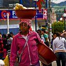 Faces of Ecuador 6 by Sue Ratcliffe