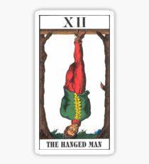 Hanged Man Tarot Sticker