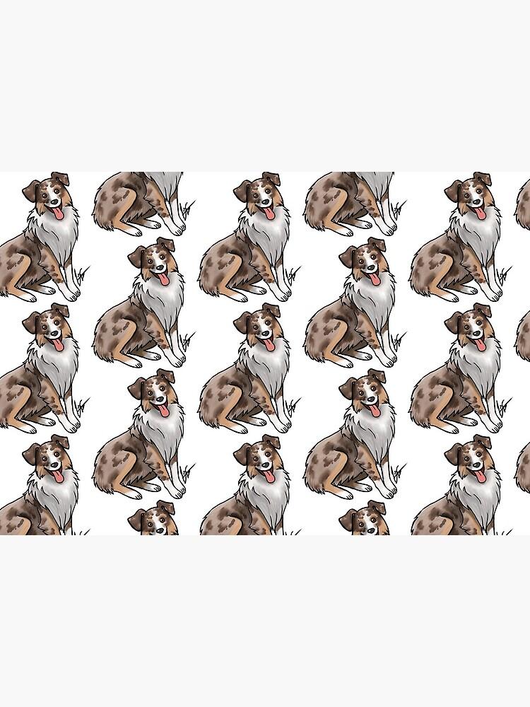 Australian Shepherd - Red Merle by jameson9101322