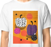 Yar - pumpkin halloween fall autumn throwback retro style fashion urban trendy 1980s 1980 80s 80's Classic T-Shirt