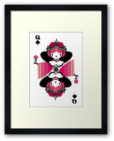 Queen of espades by Marco Recuero