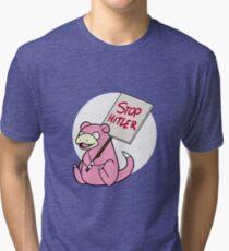 Slowpoke Protest Tri-blend T-Shirt