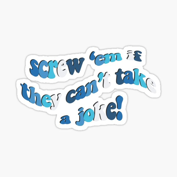 Mamma Mia Quote Sticker