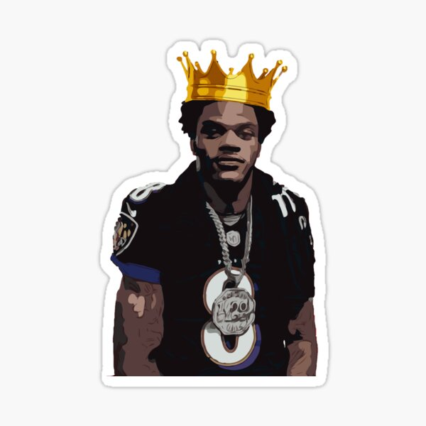 King Jackson Sticker