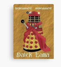 Dalek Lama Canvas Print
