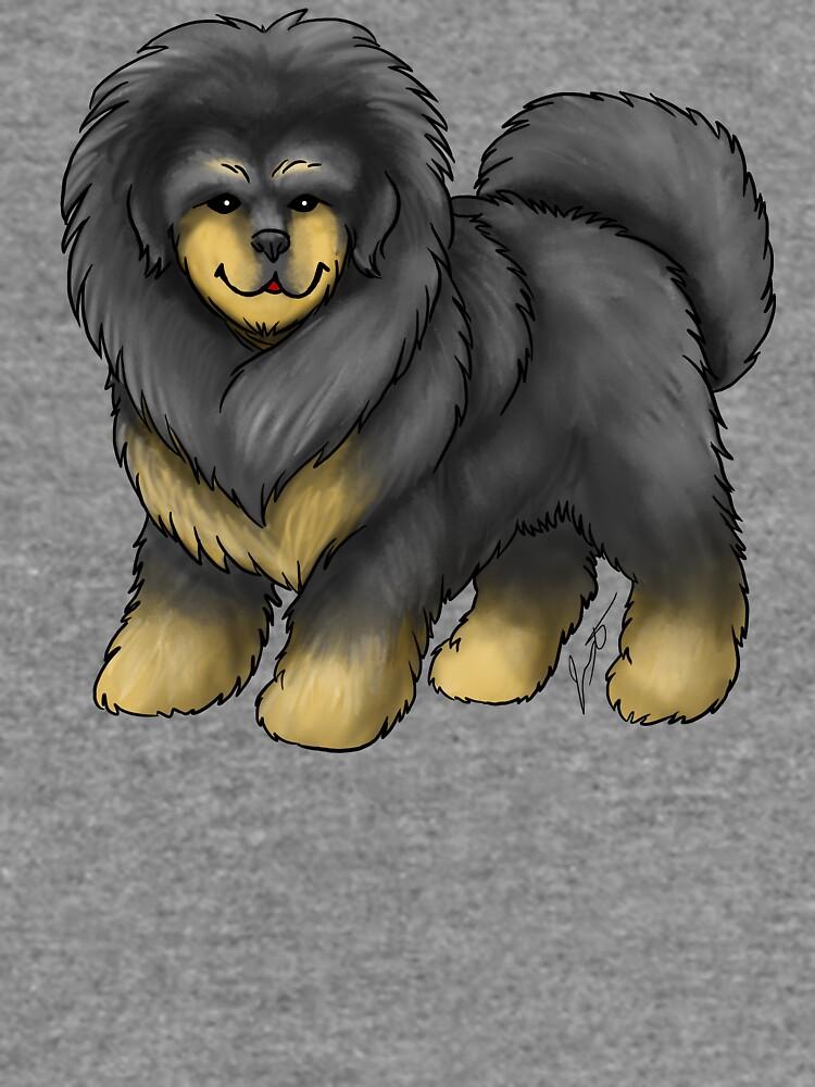 Tibetan Mastiff by jameson9101322