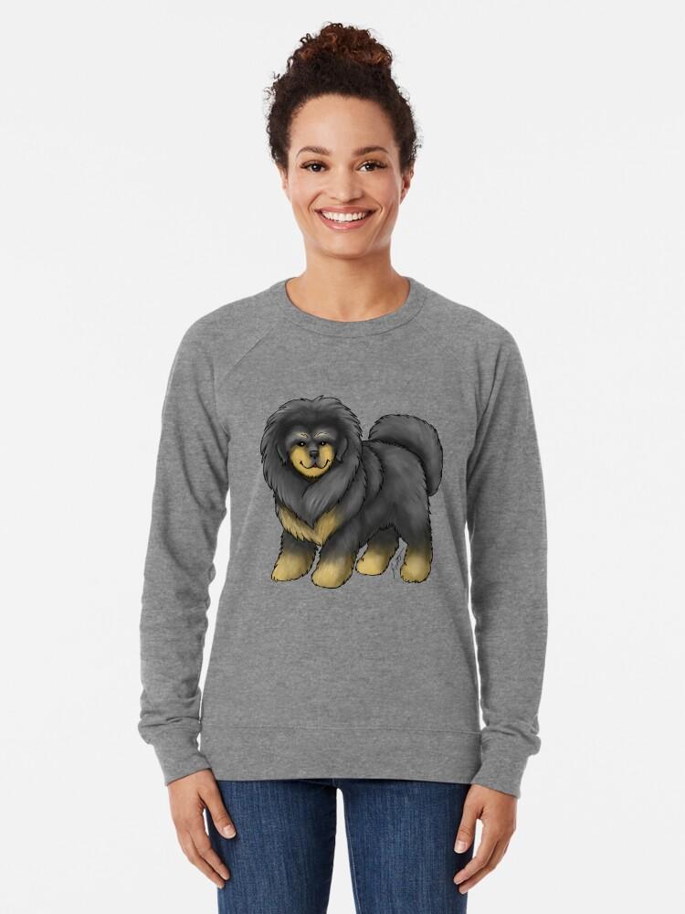 Alternate view of Tibetan Mastiff Lightweight Sweatshirt