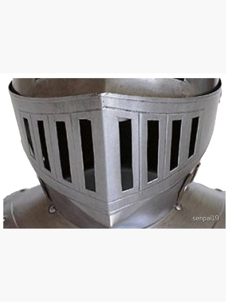 Metal Medieval Knight Face Plate Helmet HEMA by senpai19