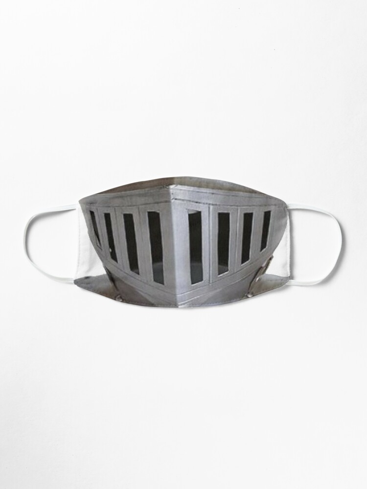 Alternate view of Metal Medieval Knight Face Plate Helmet HEMA Mask