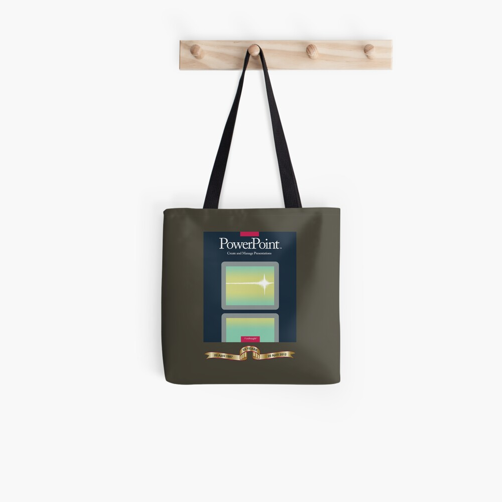 PowerPoint 1.0 for Macintosh, 1987 (25th Anniversary Re-Issue) Tote Bag