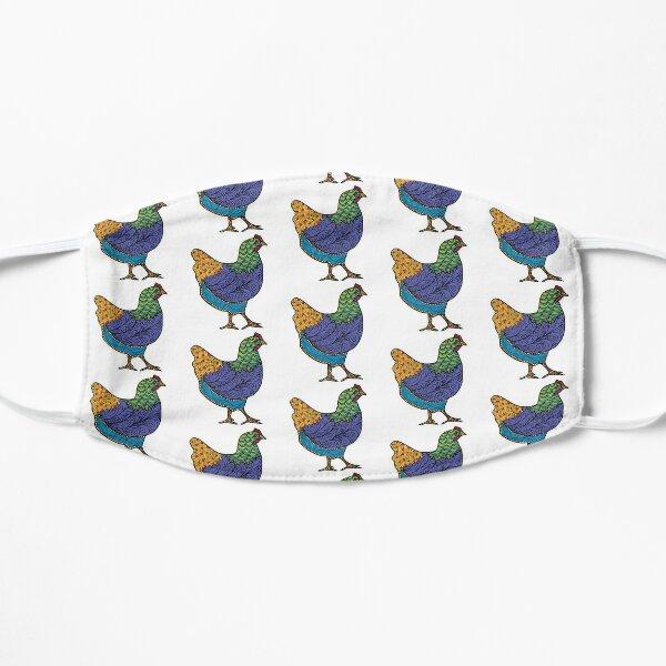Doodle Hen 2 Flat Mask