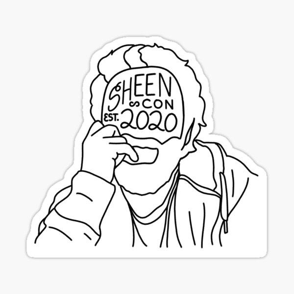 OFFICIAL SHEENCON 2020 LOGO STICKER Sticker