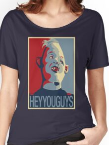 """Sloth from The Goonies - """"Hey You Guys"""" Women's Relaxed Fit T-Shirt"""