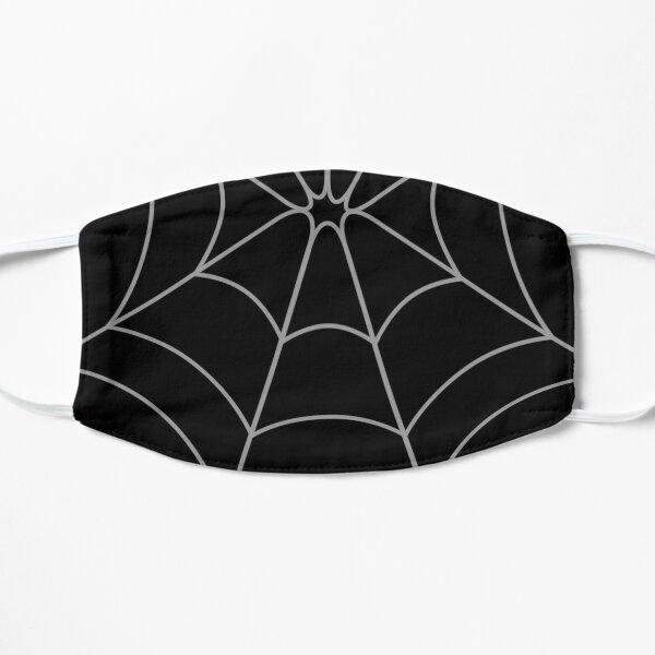 Black Web Flat Mask