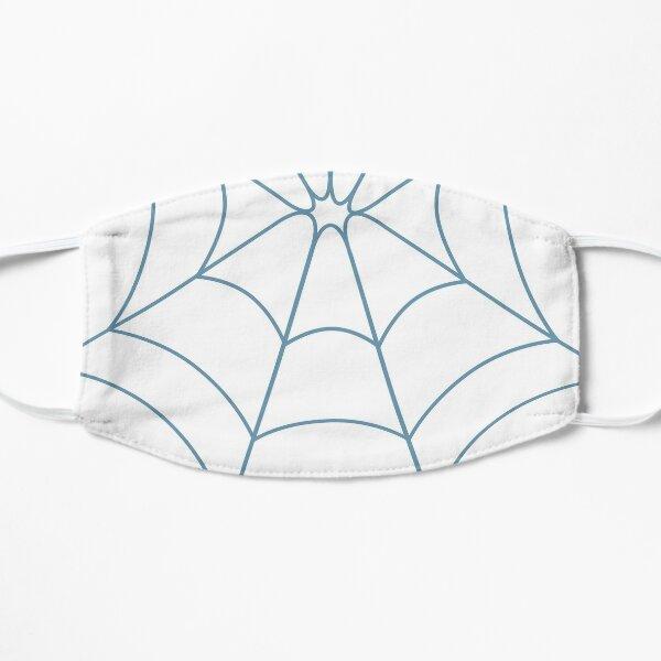 Blue Web Flat Mask