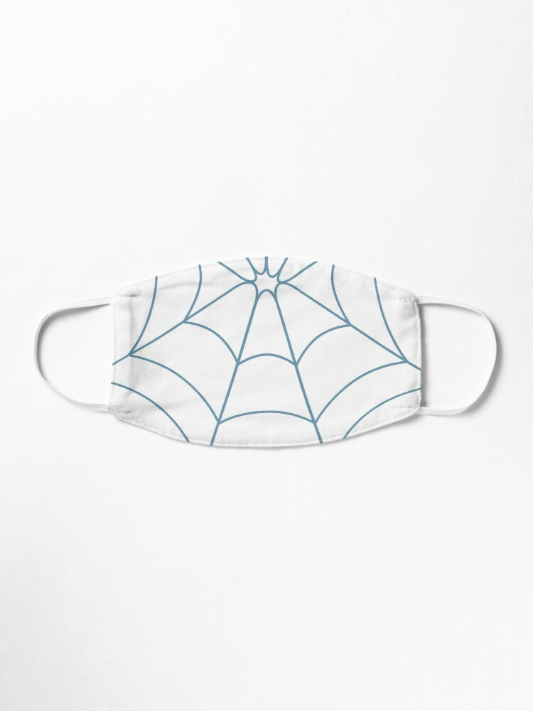 Alternate view of Blue Web Mask