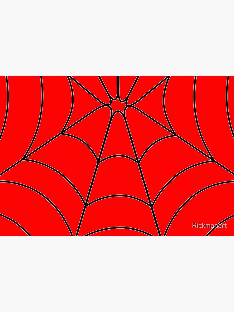 Red Web by Rickmanart