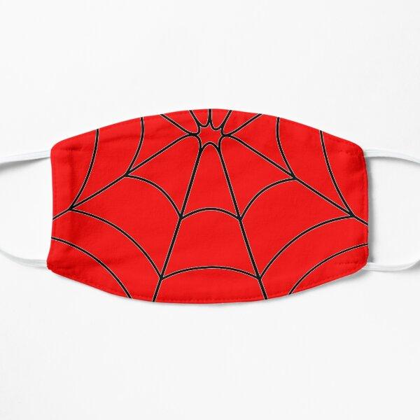 Red Web Flat Mask