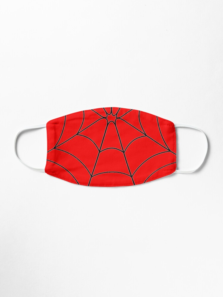 Alternate view of Red Web Mask