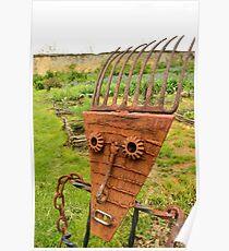 The garden keeper at Port Royal barns Poster