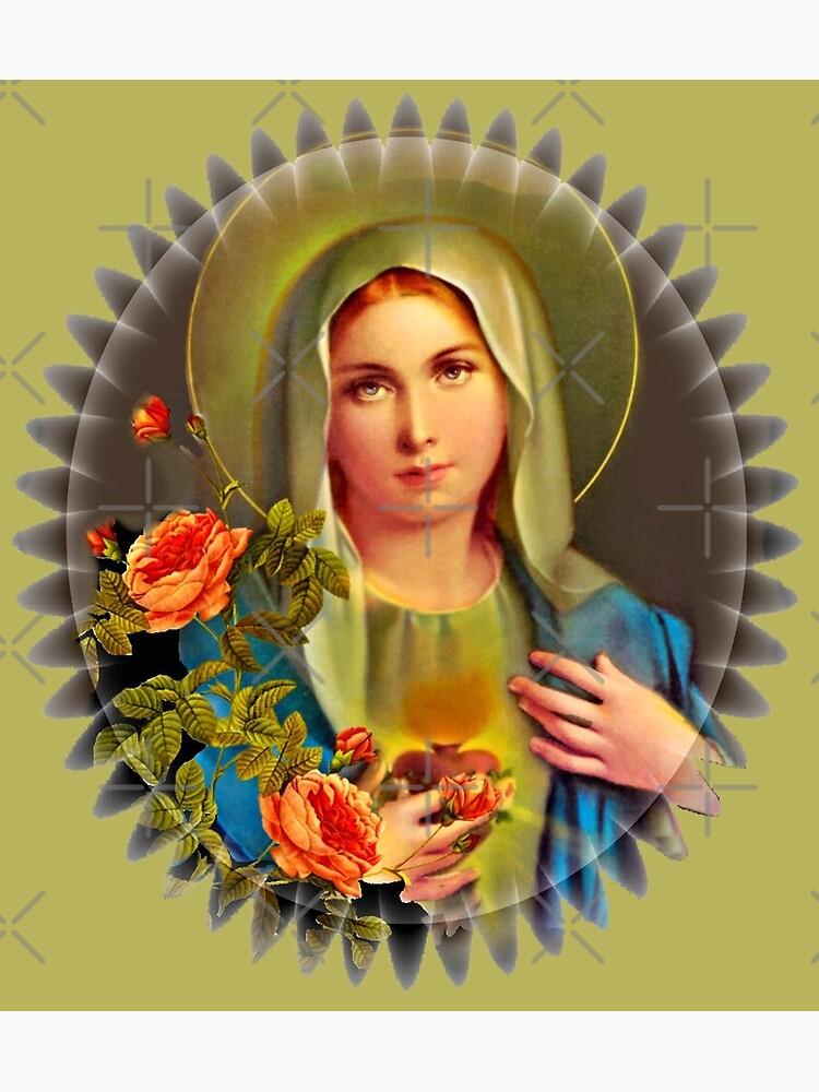 Virgin Mary  by doniainart