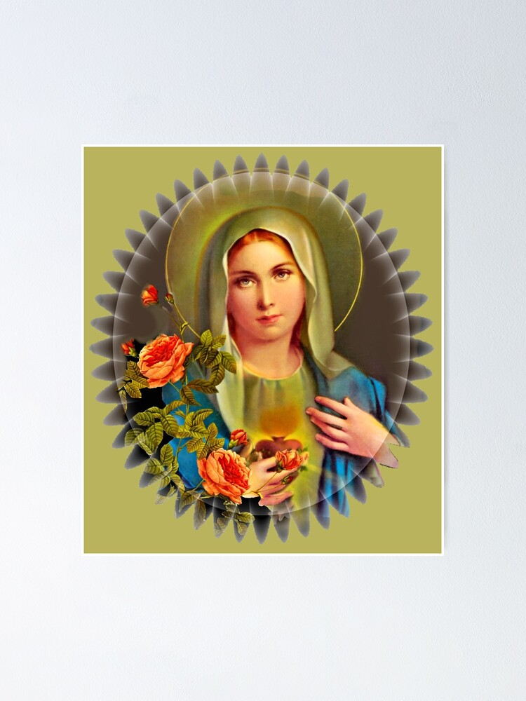Alternate view of  Virgin Mary  Poster