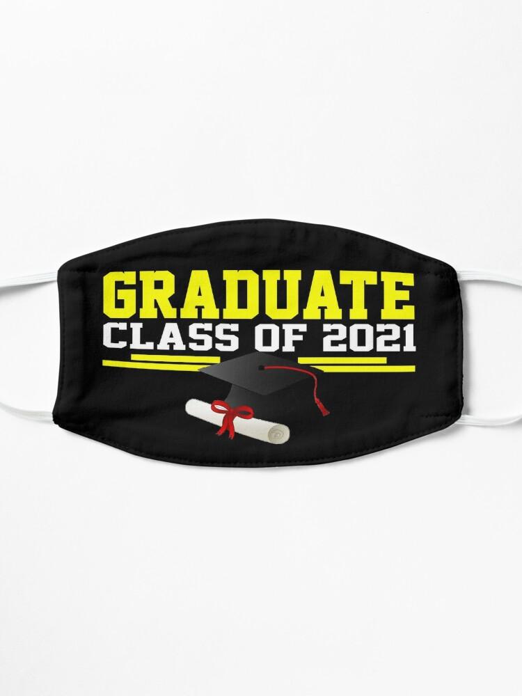 Alternate view of Graduate Class of 2021 Mask