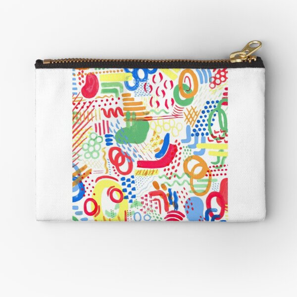 world of colour Zipper Pouch