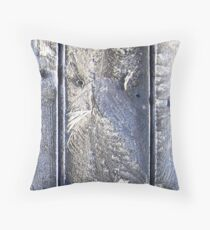 Frost Owl #01 Throw Pillow